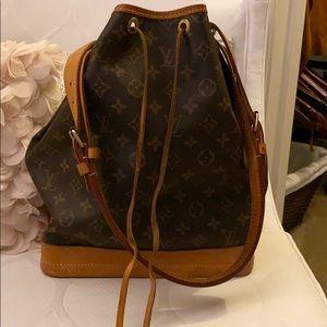 Louis Vuitton drawstring purse